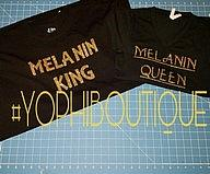 Melanin King/Queen Set